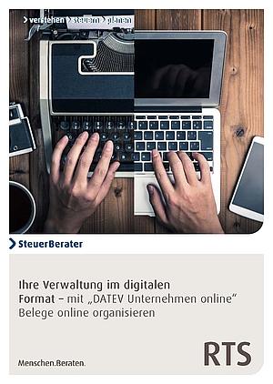 DATEV Unternehmen online - digitale Buchhaltung mit RTS Steuerberater